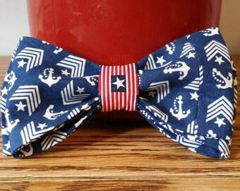 Anchor's Away Bow Tie