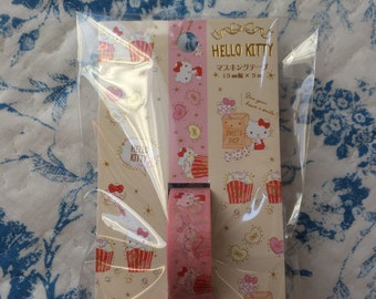 NEW Sanrio masking tape Hello Kitty