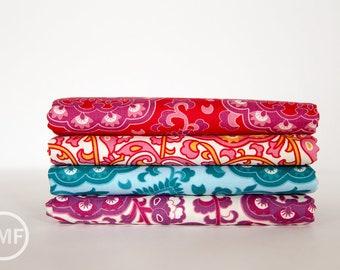 Fat Quarter Bundle Spellbound Gypsy, 4 Pieces, Urban Chiks, 100% Cotton, Moda Fabrics, 31111
