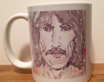 George Harrison Mug // mug // George Harrison