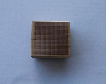 Window Screen Background Wooden Rubber Stamp by Hero Arts