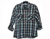 LRG | Five Brothers Green Plaid Flannel Shirt