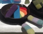 Pan Handler - Cast Iron Skillet Sleeve - Pot Holder - Felted Wool with Free Shipping - Eco Friendly Hostess Gift