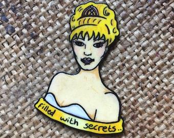 Laura Palmer badge