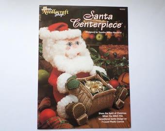 Plastic canvas Santa Claus instruction book