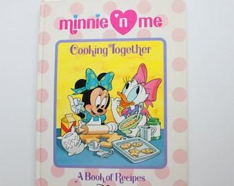 Vintage Minnie n Me Cooking Together Cookbook 1990