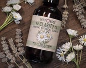 Facial Wash CLARITY - Purifying Botanical Cleanser with Chamomile & Tea Tree - 120ml // 4oz