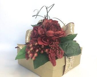 Ready To Go Gift Box Gift Ideas Birthday Gift Box Sophisticated Gift Box Gift Box, Gift Ideas, Pre-wrapped Gift Box, Wedding Gift Box,