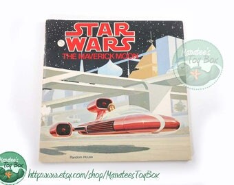 Star Wars Childrens Book: Vintage 1970s Paperback The Maverick Moon