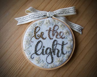 Embroidery Hoop Art ø Bible Scripture ø Inspirational ø Wall Art ø Home Decor ø LoftFullOfGoodies