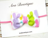 Easter Bow Headband, Eater Headband, Baby Easter Headband, Girls Easter Headband