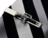 Gun Tie Clip - Tie Bar - Tie Clasp - Business Gift - Handmade - Gift Box Included