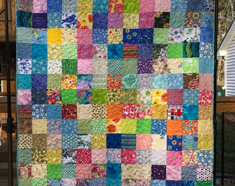 Mother's Day Quilt - Patchwork Quilts - Quilts for Mom - Handmade Quilts
