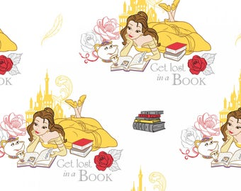 Beauty and the Beast - Beauty Books White by Disney from Camelot