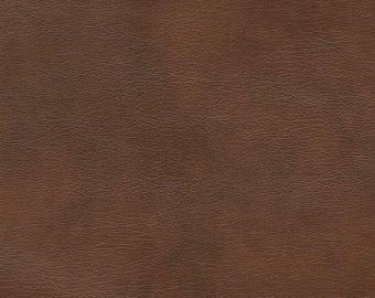"Vinyl Upholstery faux fabric ranger Saddle per yard 55"" wide"