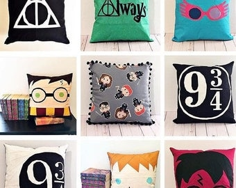 HP Inspired Pillows-9 Different Designs