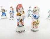 Feve Kings Cake Porcelain - Fève en Porcelaine pour la Galette des Rois - Revolution