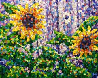 "Original Impressionist Oil Painting by Michigan artist 16x20 ""Estranged"""