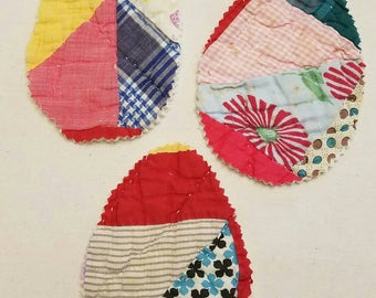 Vintage Cutter Quilt Easter Egg Cut Outs
