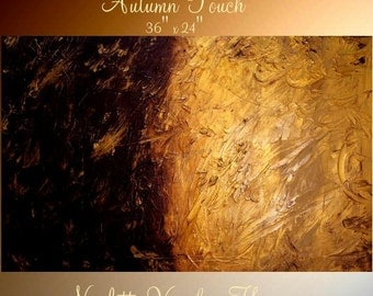 """ORIGINAL 36""""Abstract Acrylic gallery canvas-Contemporary Modern Acrylic  painting by Nicolette Vaughan Horner"""