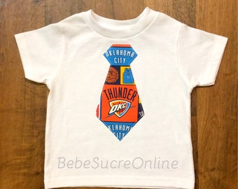Oklahoma City Thunder Boy's Toddler Shirt