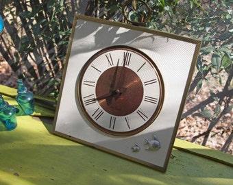 Vintage Clock, Clock, Seth Clock, Retro Clock, Mariner's Clock, Mid Century Modern Home Decor, Mid Century Clock, Seth Thomas Clock