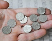 Vintage Soviet Russian coins 10 kopecks. Set of 10.