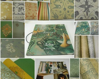 Zoffany ARDEN- by Melissa White - Wallpaper Sample Book - 36 pcs-Wallpapers Sample
