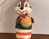 Vintage Chip Christmas Tree Ornament