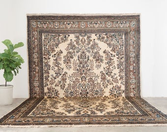 ANBAH 8.5x12 Hand Knotted Persian Wool Rug