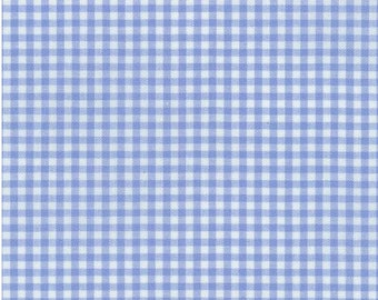 Small Gingham - Periwinkle 1/8 Inch Small Gingham from Robert Kaufman's Carolina Gingham Collection - P-5689