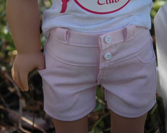 American, Made, girl, doll, Shorts, fit 18 inch doll, pants, doll clothes