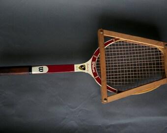 Vintage Wilson Embassy Tennis Racket