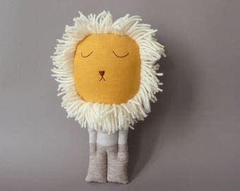 Sleepy Lion - Plush Soft Toy stuffed Doll Plushie Softie