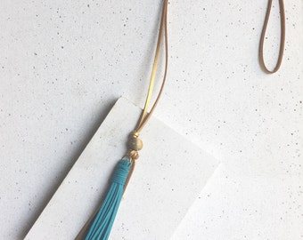 The Clare Tassel Necklace