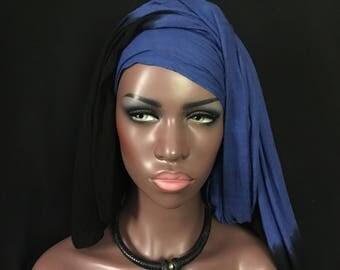 African Choker Collar Necklace BLACK Leather Handmade AMBER Mali Tribal Belly Dance Uber Kuchi®