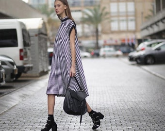 Oversized Cardigan, Hoodie Sweatshirt Dress with zipper, Sporty dress, Everyday dress, knee length Dress, Loose dress, sleeveless