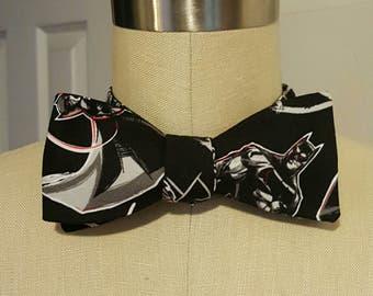 Self-tie bow tie   Batman, the Dark Knight   Black, white and red