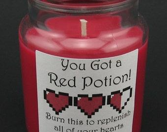 Legend of Zelda Potion Mini Candle