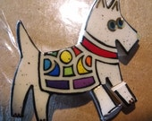 Westie Dog Replacement Pin