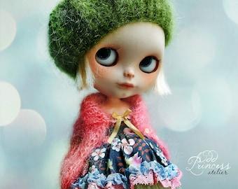 WILD SPRING FLOWERS Blythe Set By Odd Princess Atelier, Dress, Jacket, Beret, New Collection