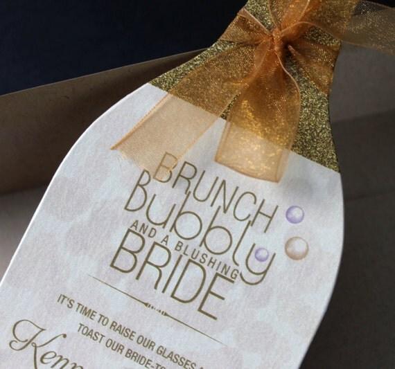 Wine Bridal Shower Invitation Wine Bottle Invitation Wine Themed
