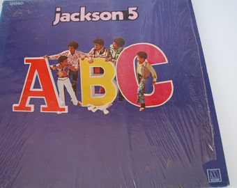 Jackson 5 ABC Album Vintage vinyl record   1970s