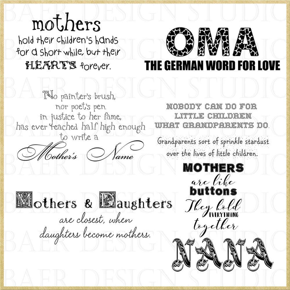 Bible Quotes About Mothers Mother Quotes Grandmother Quotes Digital Word Art Scrapbooking