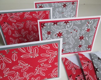 Holiday note cards | Etsy