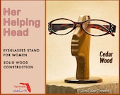 Eyeglasses or Reading Glasses Stand/ Holder. Great Handmade  Gifts for Family, Friends or your Co-Workers