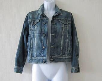 Tommy Hilfiger Blue Denim Vintage Jacket