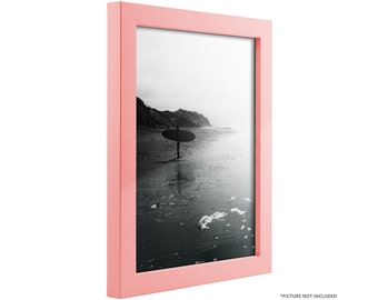 "Craig Frames, 8x10 Inch Modern Light Pink Picture Frame, Confetti, .875"" Wide (1406450810)"