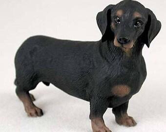 Custom Painted Dachshund Dog Figurine