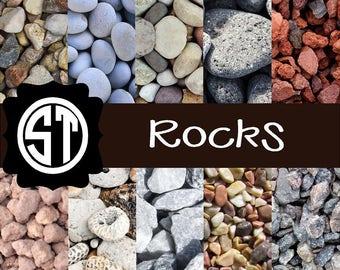 Rocks Patterns Vinyl (Indoor, Outdoor,  Glitter Vinyl, HTV iron on, Glitter Heat Transfer) Lamination available Mask not included